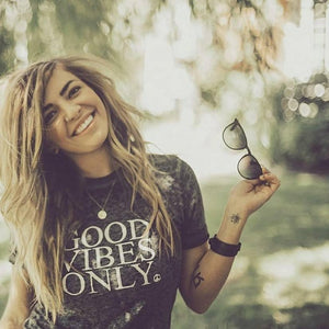 GOOD VIBES ONLY, Acid Wash Tee, Good Vibes Only, Good Vibes, Good Vibes Tee, Good Vibes Only Tee, Good Vibes Tshirt, Good Vibes Shirt