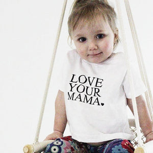 Load image into Gallery viewer, LOVE YOUR MAMA, Child's Tee, Kid's Tee, Unisex Kid's Tee, Love Your Mama Shirt, Toddler Tee, Toddler Tshirt