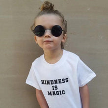 Load image into Gallery viewer, KINDNESS IS MAGIC, Kindness Top, Kindness Kids Shirt, Unisex, Boy or Girl Tee, Kindness Tees