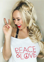 Peace & Love - Off the Shoulder