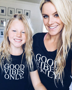 Good Vibes Only - Boyfriend Tee