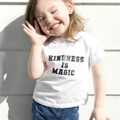 KINDNESS IS MAGIC, Kindness Top, Kindness Kids Shirt, Unisex, Boy or Girl Tee, Kindness Tees