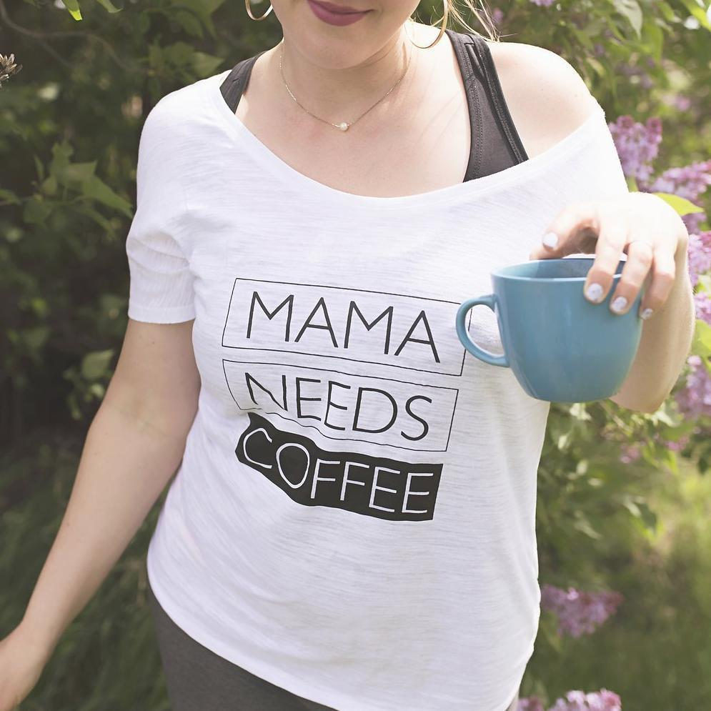 Mama Needs Coffee - Off the Shoulder