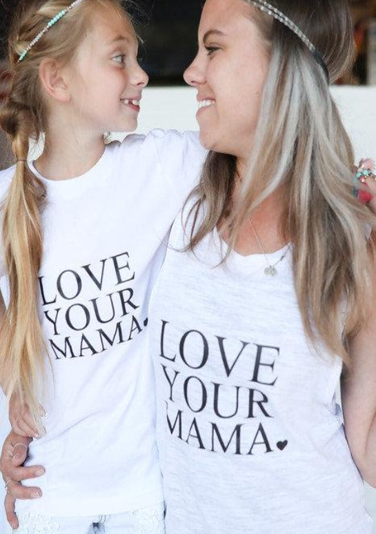 2 Piece Sets for Mommy & Me - Love Your Mama