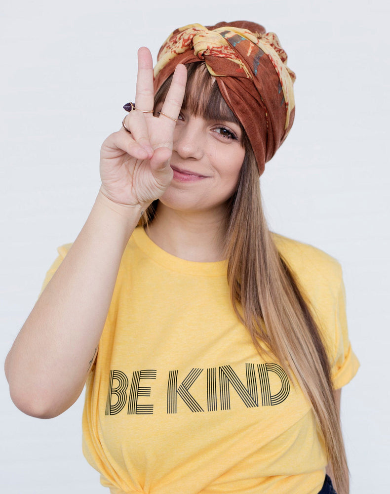BE KIND Tee, Be Kind tshirt, Be Kind Tshirts, Be Kind Tops, Retro Be Kind, Be Kind Tees, Kindness Tops