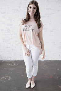 JUST PEACHY Tee, Just Peachy Tshirts, Peachy Tshirt, Peachy Tee, Peachy Tops, Peachy Shirts, Peachy