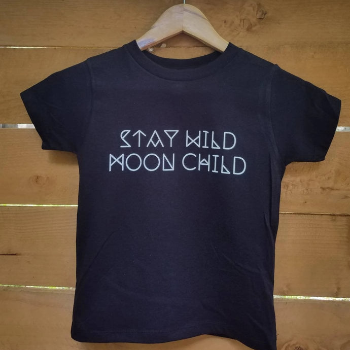 Stay Wild MOON CHILD, Child's Tee, Kid's Tee, Unisex Kid's Tee, Love Your Mama Shirt, Toddler Tee, Toddler Tshirt