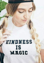 Load image into Gallery viewer, KINDNESS IS MAGIC Tees, Kindness Tee, Kindness Is Magic Tshirt, Kind Tee, Be Kind, Kindness, Kindness is Magic Tshirts, Kindness Tee