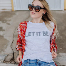 Load image into Gallery viewer, LET IT BE Tee, Beatles Tee, Let It Be Gifts, Let It Be Tshirt, The Beatles Tee, Beatles Tshirt, Let It Be Let It Be