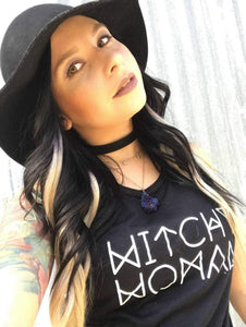 WITCHY WOMAN, Witchy Woman Tee, Witchy Tee, Witchy Woman Tshirt, Witchy Shirts, Stevie Nicks Tshirts