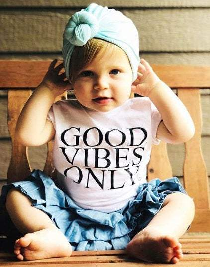Good Vibes Only - Kid's + Toddler Tees