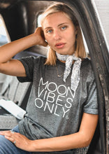Load image into Gallery viewer, MOON VIBES ONLY, Moon Tshirts, Moon Tee, Moon Child, Moonchildren, Moon Child T, Moon Child Tshirt, Moon Shirt, Cancerian Tee, Moon Tee