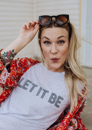 Let It Be - Boyfriend Tee