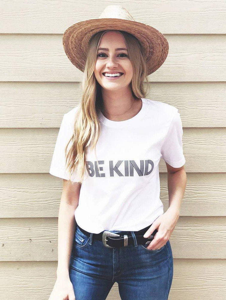 Be Kind - Boyfriend Tee