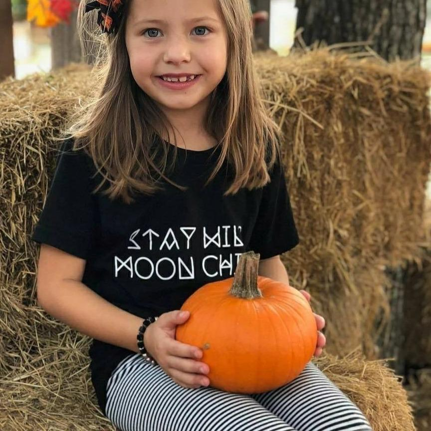 Stay Wild Moon Child - Kid's + Toddler Tees