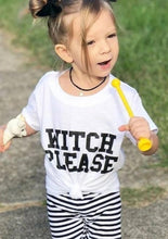 Load image into Gallery viewer, WITCH PLEASE, Witchy Kids Tee, Kids Tee, Witchy Kids Tshirts, Witch Please