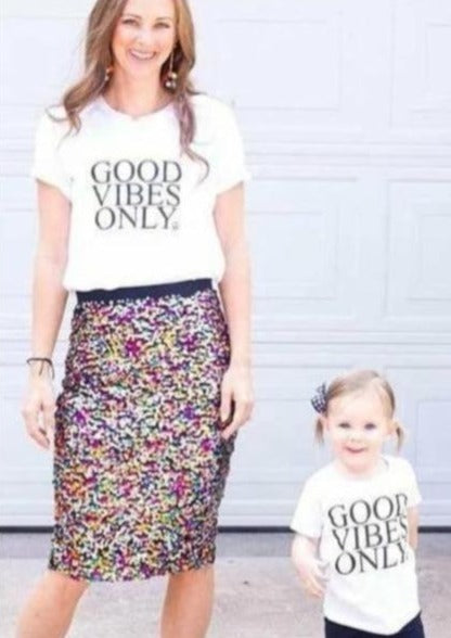 2 Piece Sets for Mommy & Me - Good Vibes Only