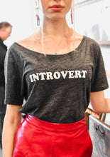 Load image into Gallery viewer, INTROVERT Tee, Introvert Tshirt, Introvert Tees, Introvert Shirts, Introvert Tops