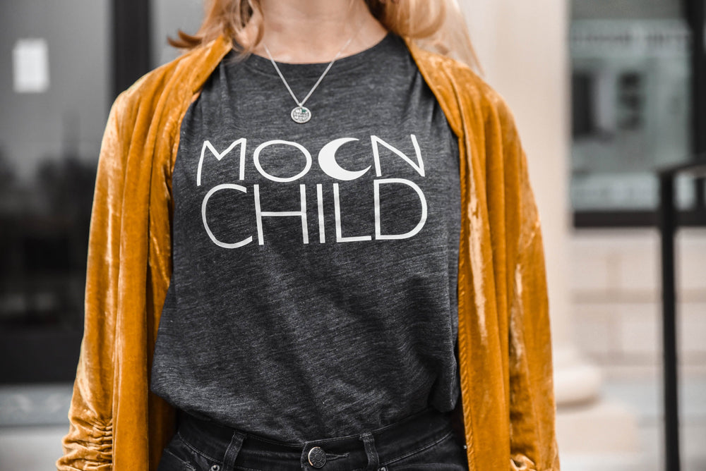 Load image into Gallery viewer, Moon Child - Muscle Tank