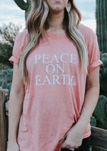 Peace on Earth - Boyfriend Tee