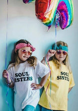 Load image into Gallery viewer, SOUL SISTERS, Kid's Tees, Soul Sisters Tshirt, Sisters Tee, Sisters Tshirts