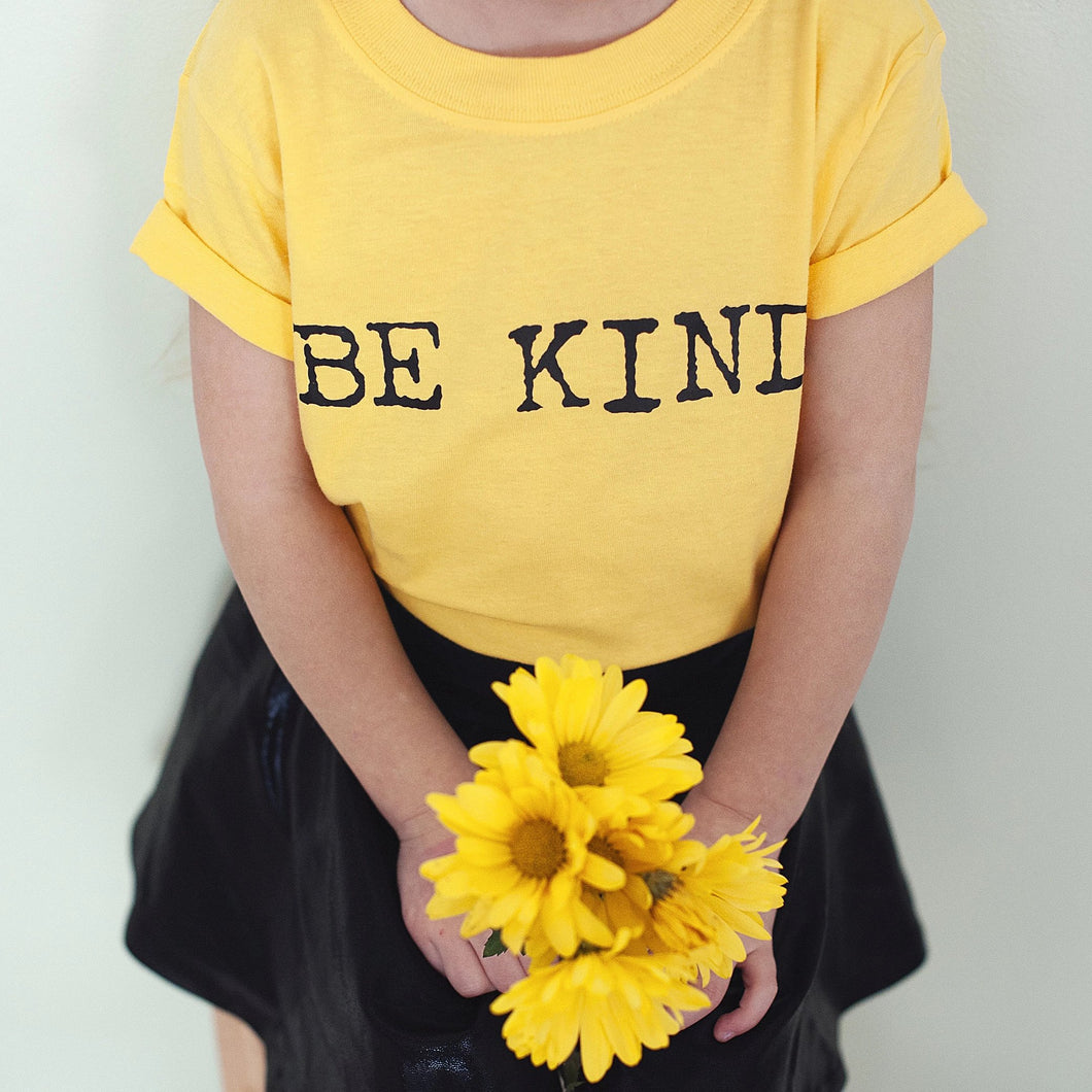 BE KIND Kid's Tee, Be Kind, Kid's Kindness Tees, Be Kind Tees, Be Kind, Kindness Shirts