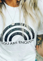 You Are Enough - Boyfriend Tee