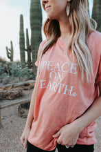 Load image into Gallery viewer, PEACE ON EARTH, Peace Sweatshirt, Super Soft Sweatshirt