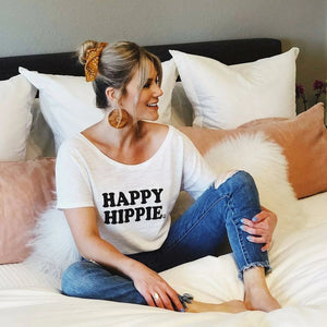Happy Hippie - Off the Shoulder
