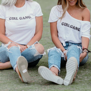 Load image into Gallery viewer, GIRL GANG, Adult Girl Gang Tshirts, Girl Gang Tee, Girl Gang, Girl Gang Shirts, Girl Gang Tshirt