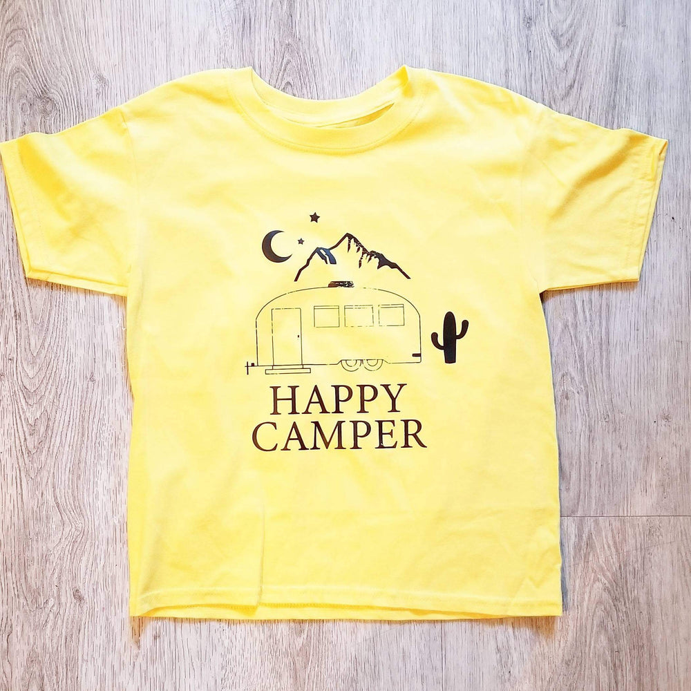 Happy Camper - Kid's + Toddler Tees