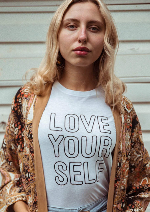 LOVE YOURSELF Tee, Love Yourself Tshirt, Love Tee, Love Yourself Shirt, Love Yourself Tshirts, Self Love Tee