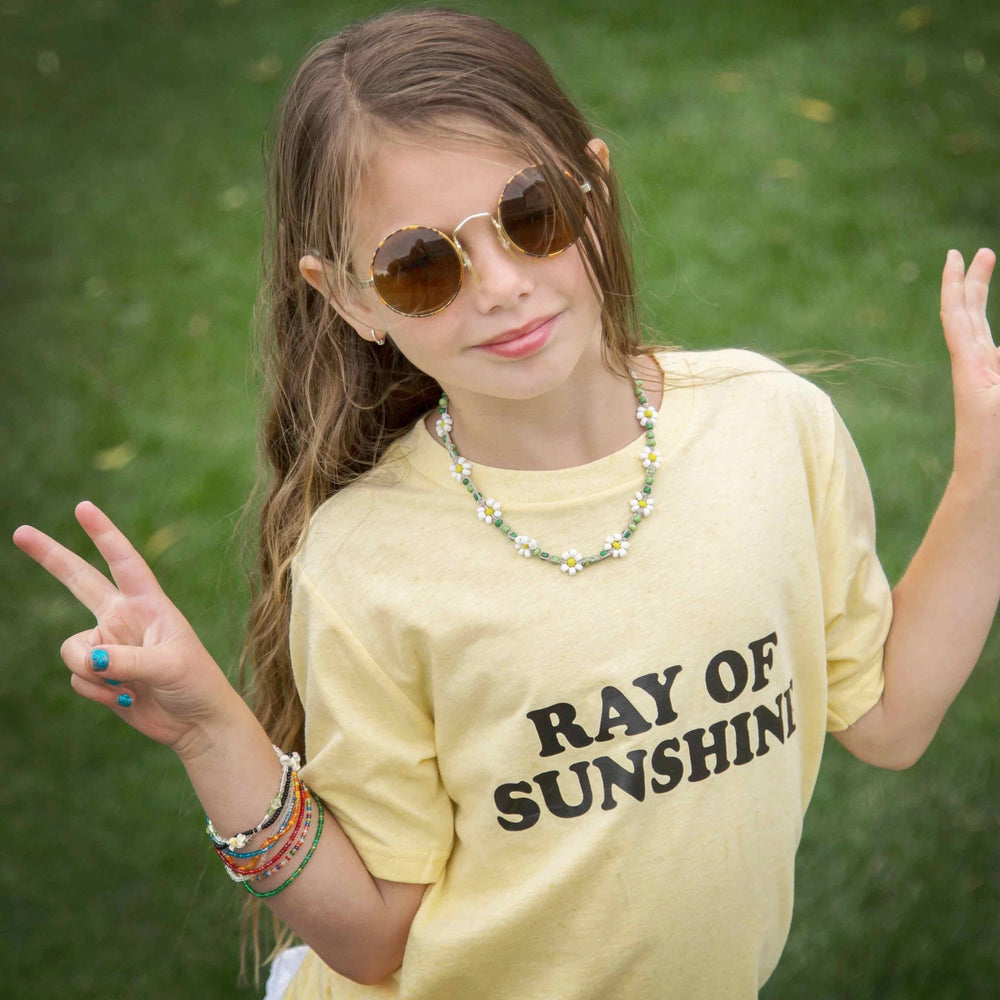 Load image into Gallery viewer, Kid's Tee, RAY OF SUNSHINE Kid's Tshirt, Sunshine Vibes, Ray Of Sunshine Tee, Ray Of Sunshine Tshirt, Ray of Sunshine, Good Vibes Tshirt