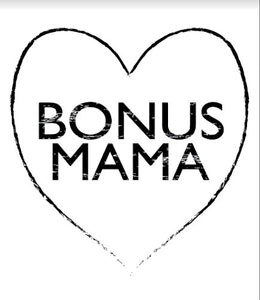 BONUS MAMA, Pocket Tshirt, Bonus Mom Tshirt, Bonus Mama Shirts, Blended Family Tshirts, Bonus Mom Shirts