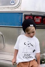 Load image into Gallery viewer, HAPPY CAMPER Kids Tee, Happy Camper Tshirts, Happy Camper Tees, Happy Camper Shirts