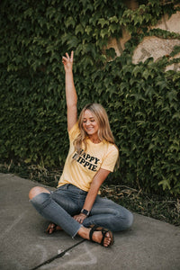 HAPPY HIPPIE TEES - Several Colors