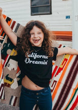 Load image into Gallery viewer, Kid's Tee, California Dreamin Tshirt, California Tshirts, California Tee, California Tshirts