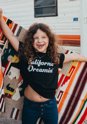Kid's Tee, California Dreamin Tshirt, California Tshirts, California Tee, California Tshirts