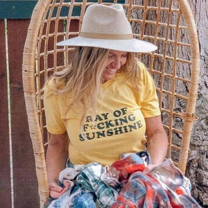 Ray of F★cking Sunshine - Boyfriend Tee