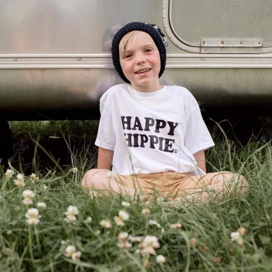 Load image into Gallery viewer, Happy Hippie - Kid's + Toddler Tees