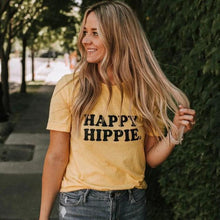 Load image into Gallery viewer, HAPPY HIPPIE TEES - Several Colors