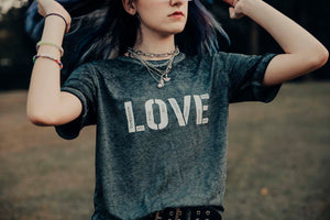 Love, ADHD, Autism, Anxiety, Mental Health - Boyfriend Tee