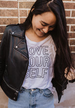 Load image into Gallery viewer, LOVE YOURSELF Tee - Several Options