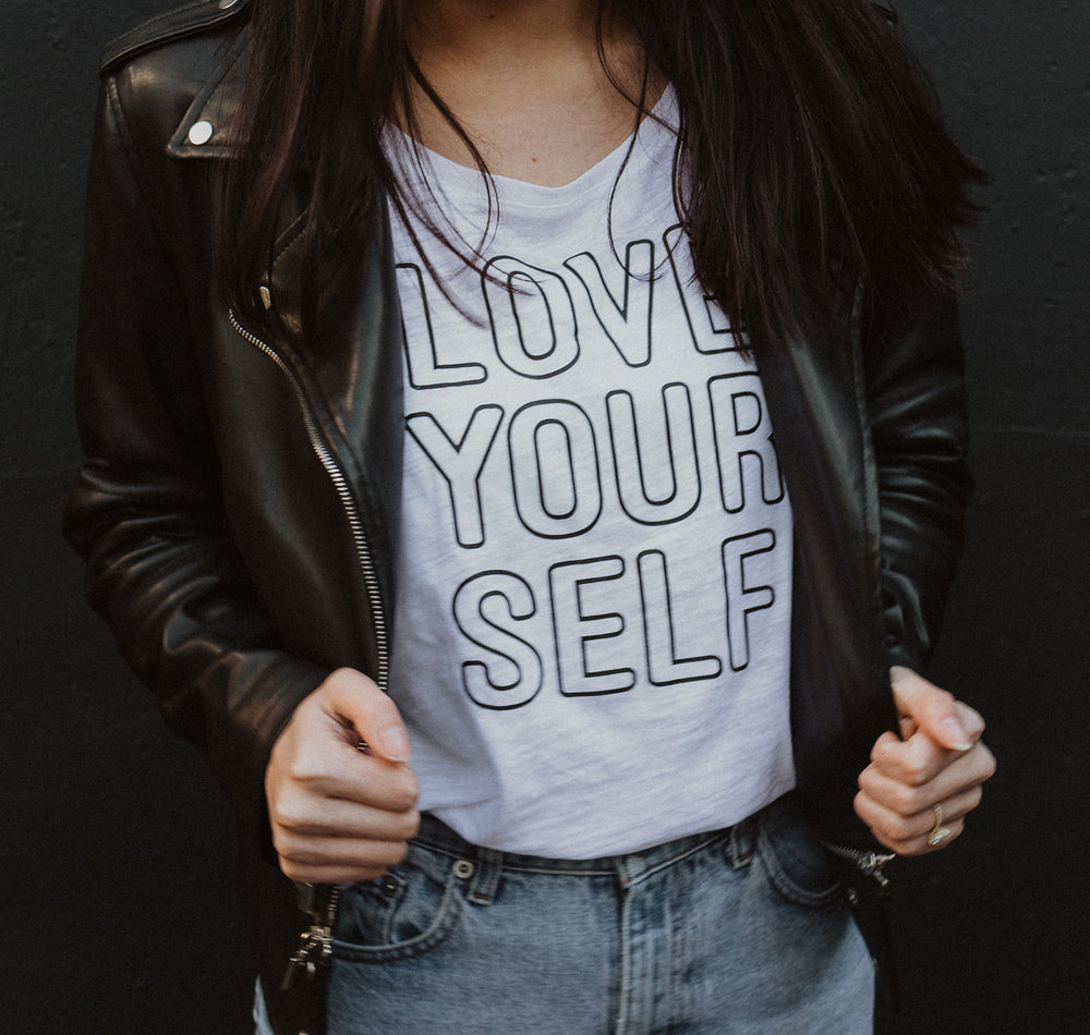 Load image into Gallery viewer, Love Yourself - Boyfriend Tee
