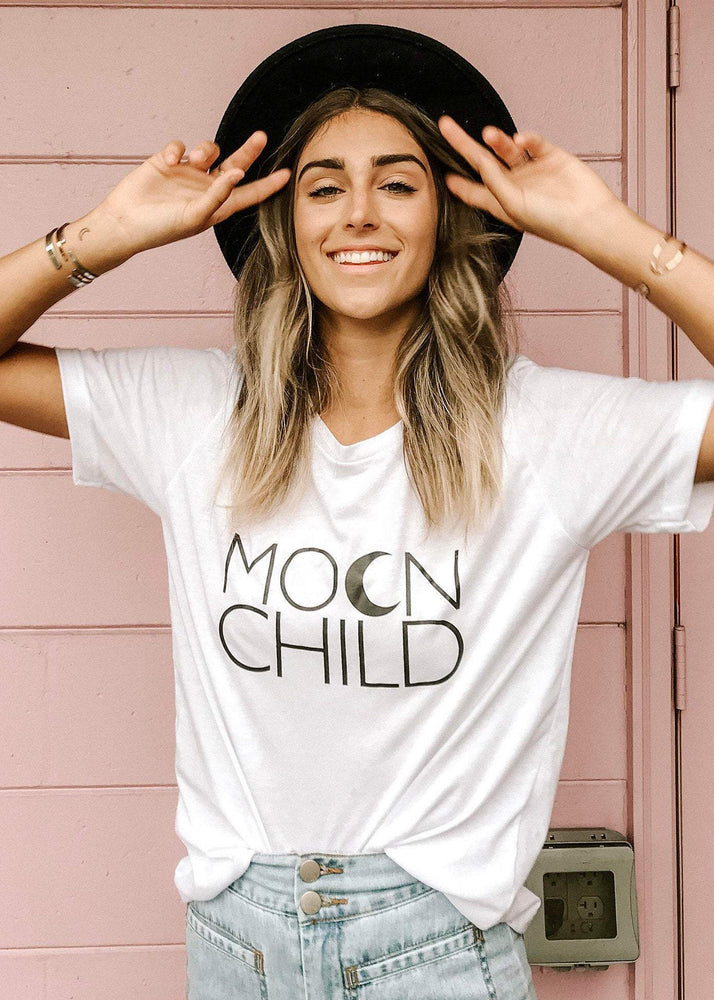 Moon Child - Boyfriend Tee
