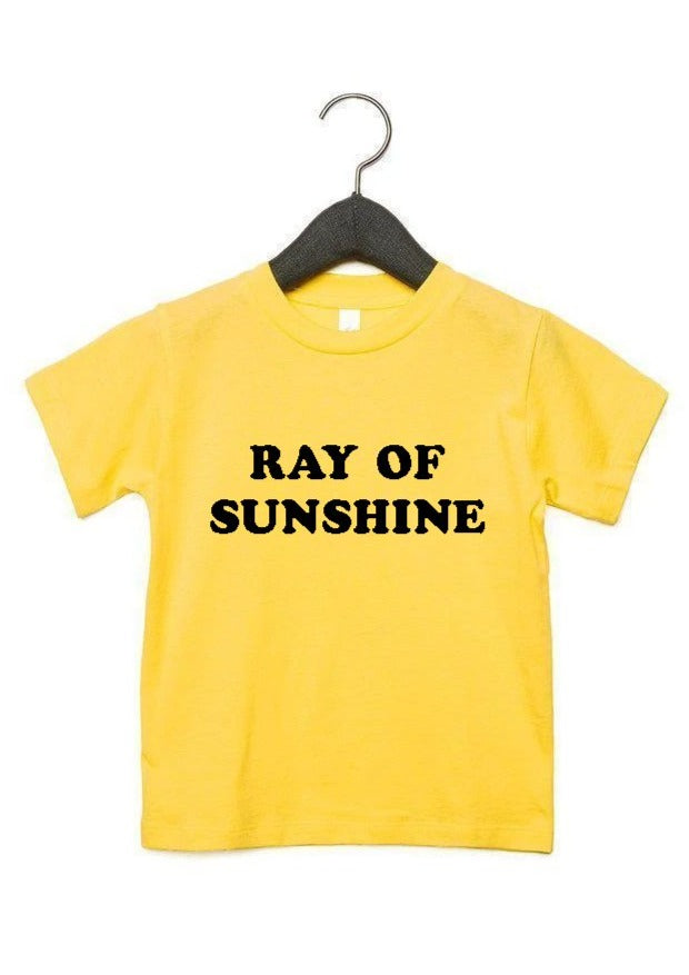 Ray of Sunshine - Kid's + Toddler Tees