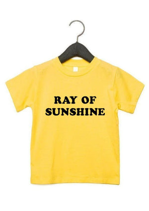 Load image into Gallery viewer, Ray of Sunshine - Kid's + Toddler Tees