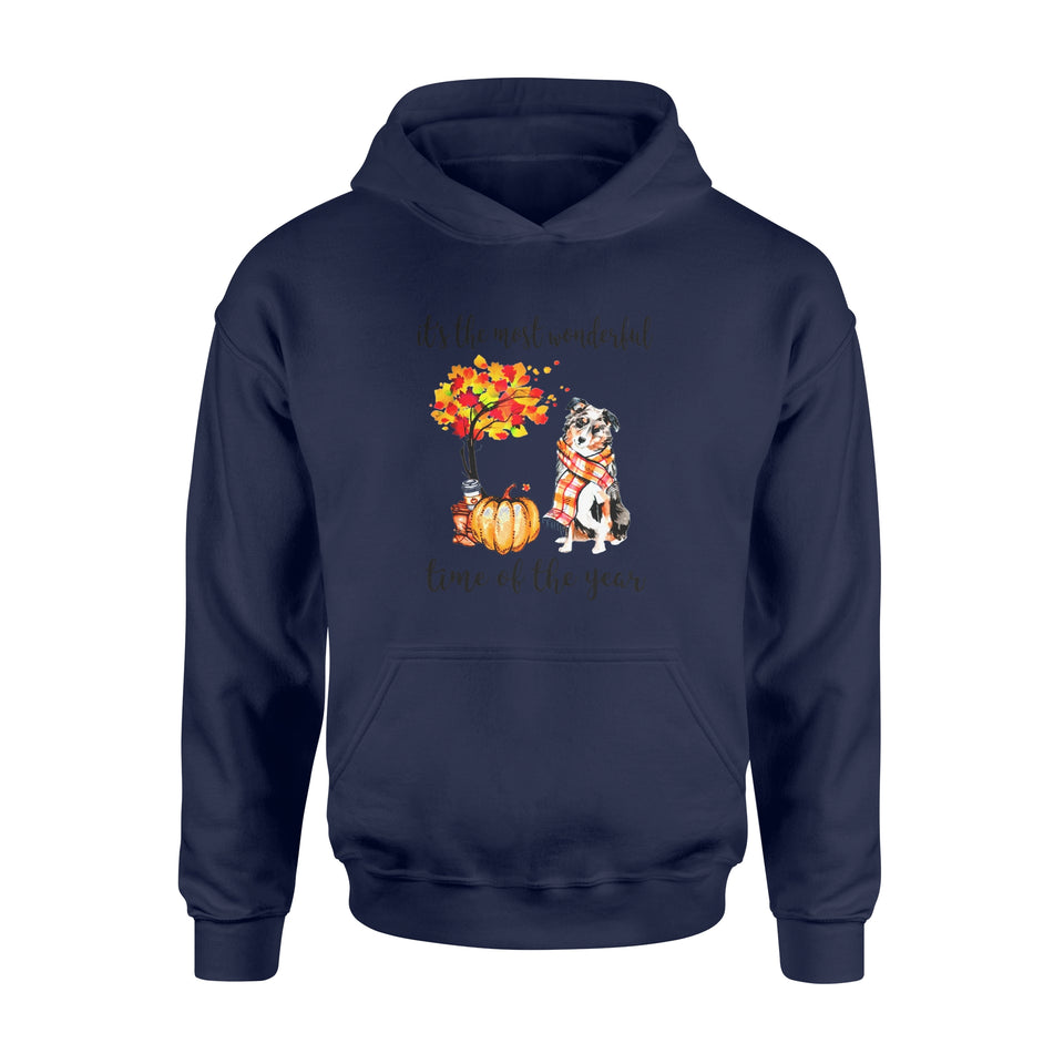 Fun Gift Idea The Most Wonderfull Time Of The Year Aussie Autumn - Standard Hoodie