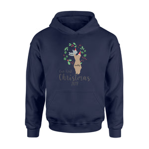 Personalize Christmas Gift Idea Our First Holiday 2019 -2 - Standard Hoodie