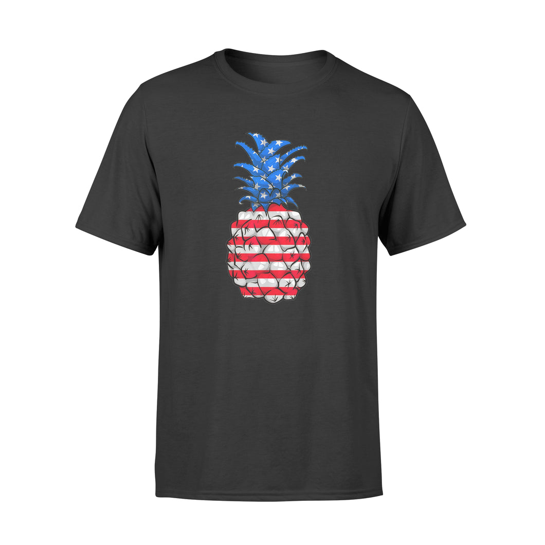 Pineapple American Flag 4Th Of July - Standard T-shirt